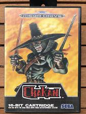 Chakan · Sega Mega Drive · OVP + Anleitung