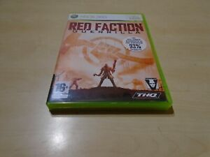 Red Faction: Guerrilla, Microsoft Xbox 360 Game, 2009, PAL, Manual Included