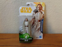 Luke Skywalker Jedi Master Star Wars Force Link 2.0 from Solo Wave One 3.75""