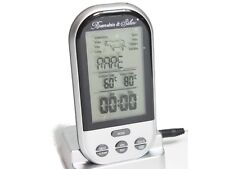 Funk Bratenthermometer Grillthermometer Thermometer digital Rosenstein & Söhne