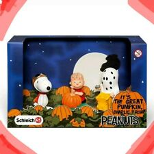 Schleich 22015 - Peanuts Gang Series (2014) - Halloween Scenery Pack
