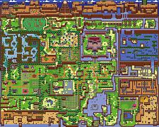 ZELDA: LINK'S AWAKENING MAP POSTER