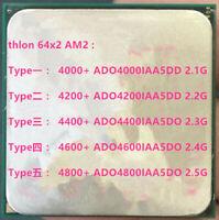 AMD Athlon 64 X2 4000+ 4200+ 4400+ 4600+ 4800+ AM2 940-pin Desktop CPU