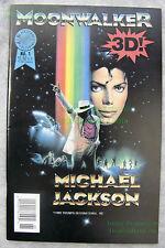 Michael Jackson MOONWALKER Comic #1 Blackthorne 3-D Series #75 EXCELLENT Copy