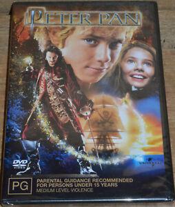 Peter Pan (DVD, 2004) - PAL 4 - Sealed - Jason Isaacs, Jeremy Sumpter