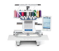 Model Just Released Brother PR1055X 10 Needle Embroidery Machine