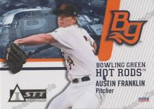 2018 Bowling Green Hot Rods Austin Franklin RC Rookie Tampa Bay Rays Minor