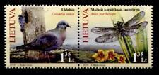 Taube und Libelle. 2W. Litauen 2010