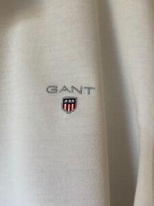 GANT * Herren-POLOSHIRT * Gr. XL * weiß