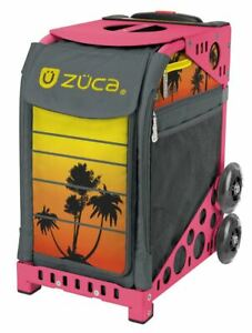 Zuca Sport Bag -Tropical Sunset with Gift 2 Small Utility Pouch