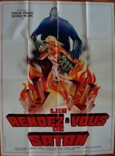 CASE OF THE BLOODY IRIS French Grande movie poster 47x63 EDWIGE FENECH GIALLO