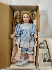 "MARIE OSMOND ""BUNNY BLUES"" Porcelain Doll  Hand Numbered.  1582/5000"