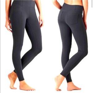 Athleta Metro Legging Yoga Pants Gray Size XS Stretch