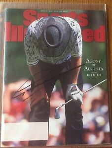 April 22 1996 Signed Sports Illustrated Greg Norman