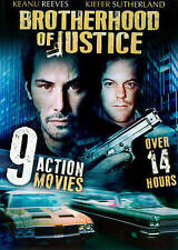 Brotherhood of Justice: 9 Action Movies (DVD, 2014, 2-Disc Set)