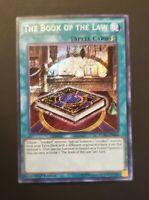 The Book of the Law FUEN-EN036 Secret Rare 1st NM Yugioh