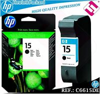 TINTA NEGRA 15 ORIGINAL IMPRESORAS HP CARTUCHO NEGRO HEWLETT PACKARD C6615DE