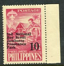 PHILIPPINES;  1961 early Scout Jamboree issue Mint MNH Unmounted 10c.