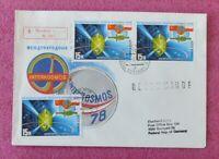 Sojus/Soyuz 31 Start / Launch Interkosmos 26.08.1978 Stempel Moskau, UdSSR Space