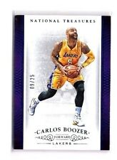 Carlos Boozer 2014-15 Panini National Treasures, (Blue), /25 !!