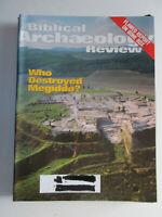 Biblical Archaeology Review November/December 2003 Who Destroyed Megiddo?