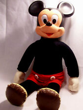 Vintage Disney Hasbro Marching Mickey Mouse Doll From 60's For Boys & Girls 3-10