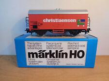 """MARKLIN HO WAGON FRIGO SNCB/NMBS """"CHRISTIAENSEN""""."""