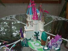 Beauty & the Beast castle Disney RARE 1998 Polly Pocket SizetrendmastersIt Light