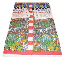 Where's Wally Single Bed Quilt Cover Vintage 1996