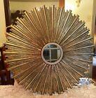 Vintage Metal Starburst Mirror 24