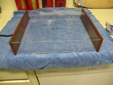 New listing Vintage Elac Miacord 50-H Dust Cover ( Only The Dust Cover )
