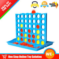 Connect 4 Four Line Up In A Row Line Board Game Family Travel Toy 2 Players Fun