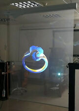 A4 Size Transparent 3D Holographic Projection Film Self Adhesive Film