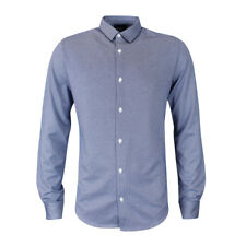 Armani Jeans - Fantasia Blue Shirt - Large - *NEW WITH TAGS* RRP £145