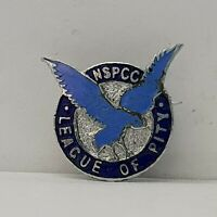 NSPCC League of pity enamel badge