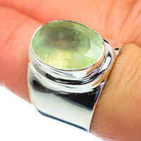 Prehnite 925 Sterling Silver Ring Size 7.75 Ana Co Jewelry R47303F