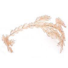 Baroque Crowns Gold Leaf Headband Hair Jewelry Wedding Tiara Bridal Headpiece