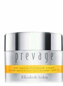 Elizabeth Arden Prevage Anti-aging Moisture Cream SPF30 1.7oz, New in Box.