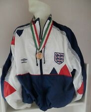 ENGLAND ITALIA 90 UMBRO OFFICIAL SQUAD TRACKSUIT ISSUE XL GREAT CONDITION