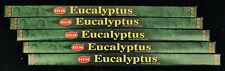 40 Sticks 5 Packs EUCALYPTUS Fragrance Strong Scented Incense Insence Bulk HEM