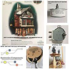 DEPT 56 Ebenezer Scrooge's house-model:56.58490- REPLACEMENT MOTOR 12VOR120V AC
