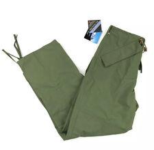 TRU-SPEC H20 Proof ECWCS Trousers Dintex Green Size Small Regular New