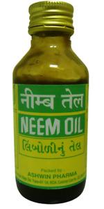 2 Pack Ashwin 100ml Neem Oil 100% Pure Oil Dandruff Itchy Scalp