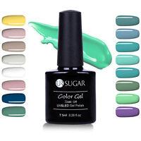 7.5ml Nagel UV Gel Lack Grasgrün Serie Soak Off Gellack Top Base Coat Led Gel