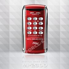 Digital Door Lock MI-2300 Smart Electronic Security Entry 1Way Password - Red