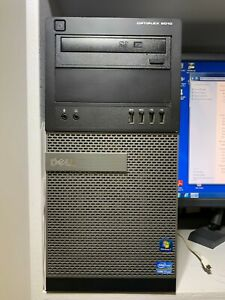 Dell OptiPlex 9010 MT Core i7 3770 3.4 GHz 8GB 2TB SDD 64-Bit  windows 7 Profess