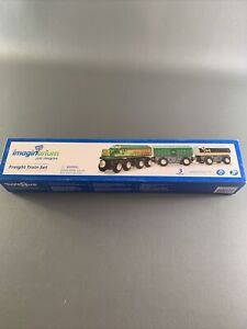 Imaginarium Wood Freight Train Set Railway Compatible With Thomas New Sealed Nox