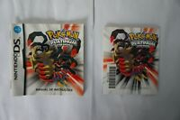 Manual de Instrucoes Pokemon Platinum Version NTR-CPUP-PORT only in Portuguese