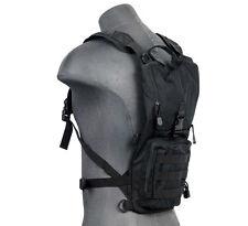 Lancer Tactical 2.5L Hydration Pack Backpack Bladder Storage Pouch Black CA-321B
