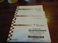 2004 GMC T-Series Owner's Manual Set, Exc Condition
